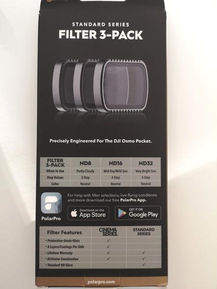Kit Filtro Polarpro Standard 3-pack Para Dji Osmo Pocket