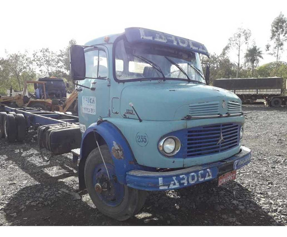 Mercedes-benz 1113 Truck Chassi 10,30m Ano 1978