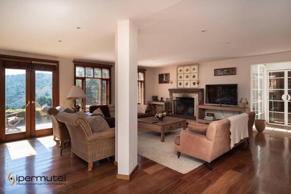Linda Casa Com 5 Dormitórios À Venda, 300 M² - Jd Belvedere - Campos Do Jordão/sp - Ca0086