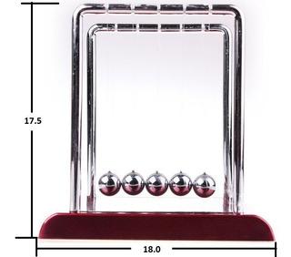 Pendulo Newton Grande Kinetico Oficina Buro Mod.3-3