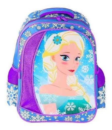 Mochila Infantil Feminina Escolar Estilo Frozen - Yepp