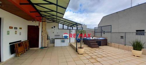 Imagem 1 de 30 de Cobertura Com 3 Dormitórios À Venda, 150 M² Por R$ 465.000,00 - Balneário Cidade Atlântica - Guarujá/sp - Co0287
