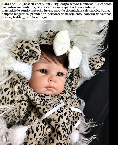 Bebês Reborn Kiara 17