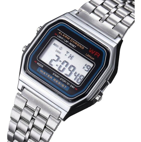 Promoção Relógio Feminino Digital Retrô Vintage C/ Estojo