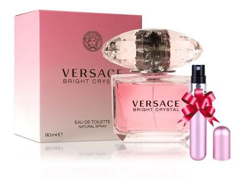 Imagen 1 de 4 de Perfume Bright Crystal Para Mujer De Versace Edt 90ml