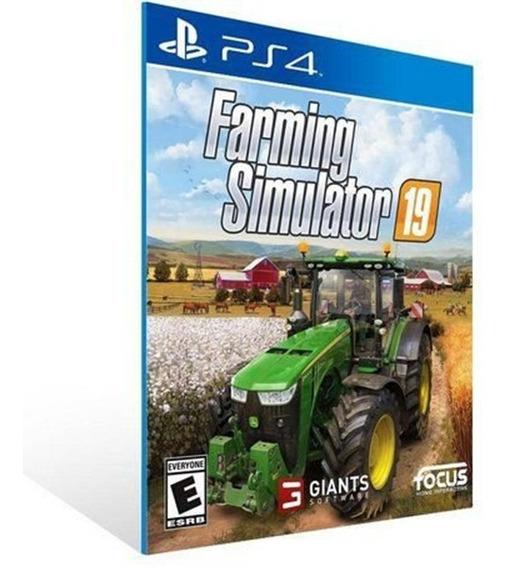 Fs 2019 Farming Simulator 19 - Ps4 - 1 - Envio Imediato
