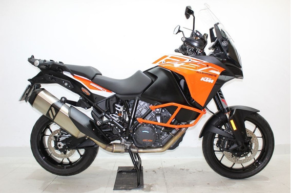 Ktm 1290 Super Adventure S 2017 Laranja