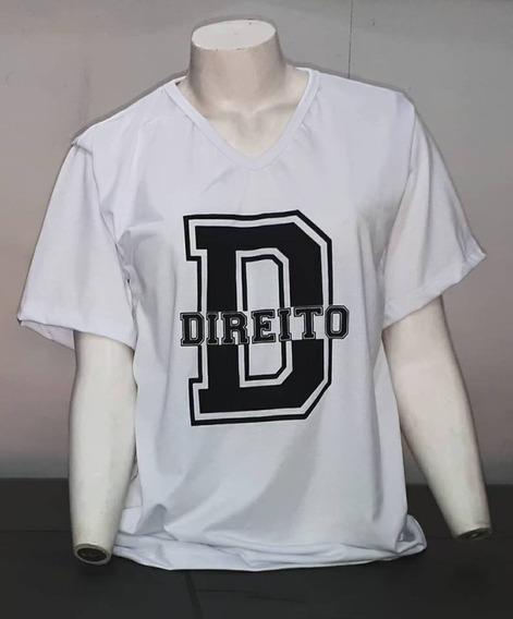 Camiseta Curso Faculdade Profissão Personalizada