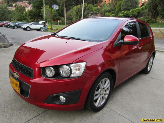 Chevrolet Sonic Lt At 1600 Aa