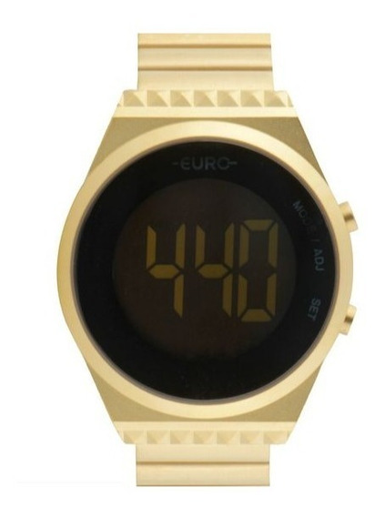 Relógio Euro Fashion Fit Slim Feminino Dourado Eubjt016aa/4d
