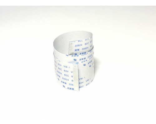 Imagen 1 de 4 de Cable Flex Plano Membrana Flexible Cinta 21 Pines 67 Cm