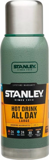 Termo Acero Inoxidable Stanley 1 Litro Frio Calor 24 Hs