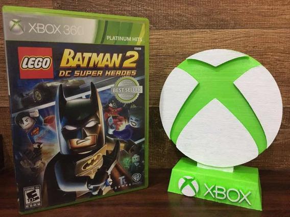 Lego Batman 2 Dc Super Heroes Xbox 360 Mídia Física