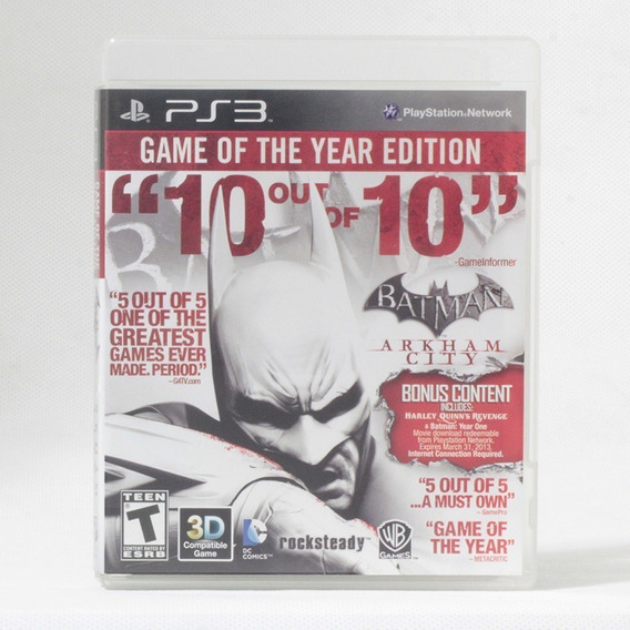 Batman Arkham City Game Of The Year Edition / Playstation 3