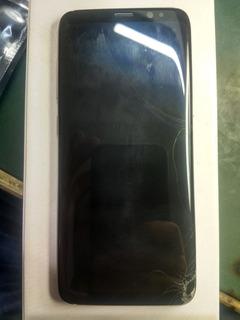 Touch Com Lcd Original Samsung G950, Com Vidro Quebrado.
