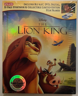 Blu-ray + Dvd The Lion King / El Rey Leon (1994) Digibook