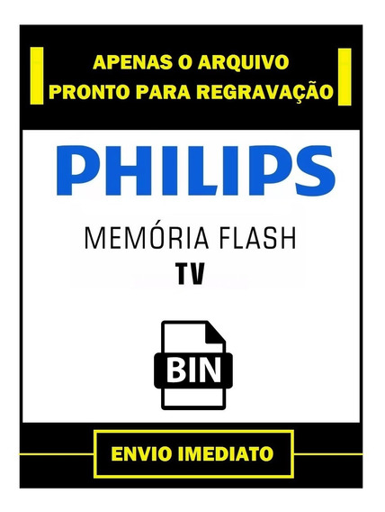 Dados Flash Eprom Philips 32pfl3018d /78 Envision Tpvision