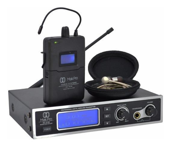 Monitor In Ear Makpro Sem Fio Nfe Garantia