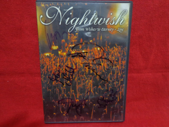 Dvd Nightwish - From Wishes To Eternity Live Autografado