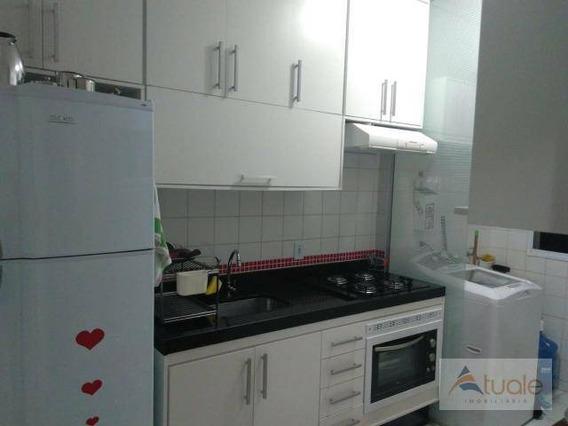 Apartamento Com 2 Dormitórios À Venda, 49 M² Por R$ 195.000,00 - Condomínio Bela Vista Varandas - Sumaré/sp - Ap6774