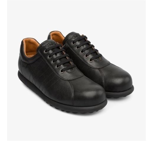 Camper Pelotas Zapatos Negros Piel Cuero Mx 26 Eu 41