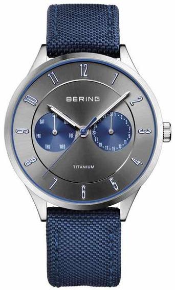 Relógio Bering Time Titanium 11539-873