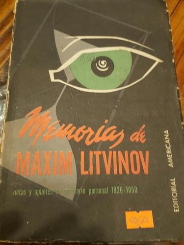 Memorias De Maxim Litvinov(b)