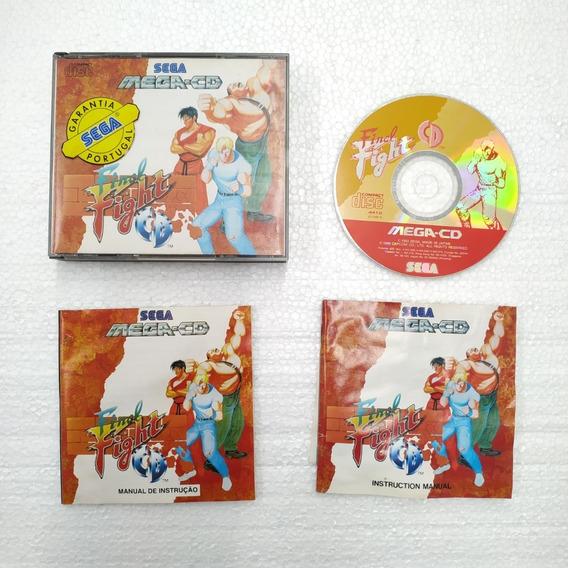 Jogo Final Fight Cd Original - Sega Cd - Pal