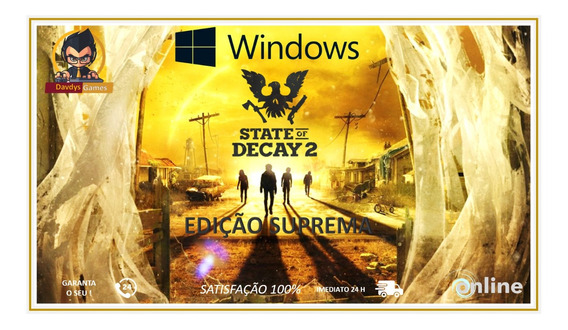 State Of Decay 2 - Ultimate Edition Suprema - Pc