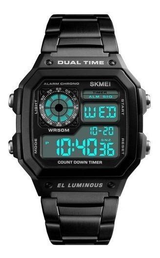 Relógio Masculino Skmei Original Digital Similar Ao Casio