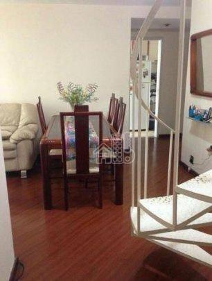 Cobertura Com 3 Dormitórios À Venda, 177 M² Por R$ 950.000,00 - Icaraí - Niterói/rj - Co0105