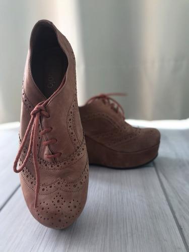 Zapatos Plataformas Paruolo