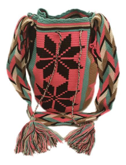 Mochila Wayuu 100% Original Grande Envio Gratis