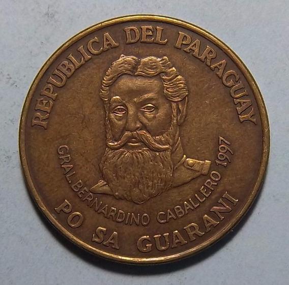 Paraguay 500 Guaranies 1997 Excelente Km 195