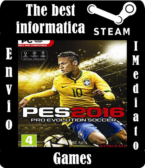 Pes 16 Pro Evolution Soccer 16 Pc Steam Original