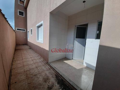 Imagem 1 de 19 de Casa Com 2 Dormitórios À Venda, 90 M² Por R$ 480.000,00 - Marapé - Santos/sp - Ca0116