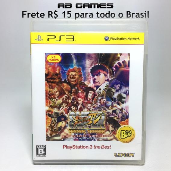 Super Street Fighter Iv Arcade Edition Japonês Playstation 3