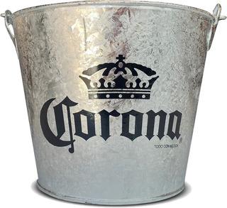 Balde, Bucket, Cubeta O Hielera De Cerveza Corona Nuevos