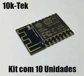 10x Módulo Wifi Esp8266 Esp-12f Wi Fi - Arduino   Promoção