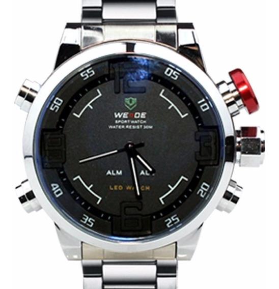 Relógio Masculino Pulso Weide Digital Wh2309-2-frete Grátis