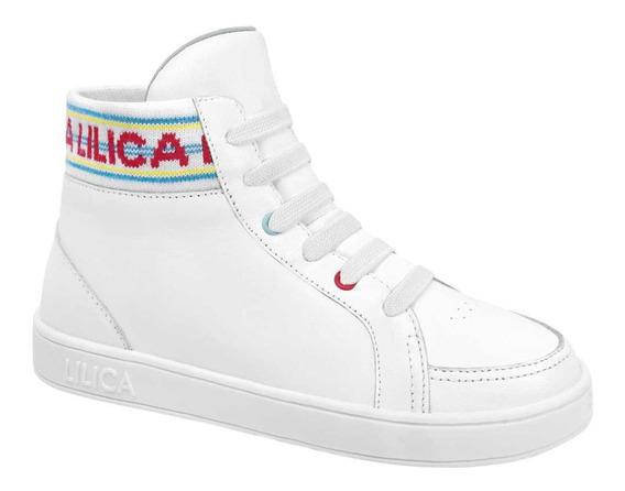 Tênis Cano Alto Lilica Ripilica Infantil - 10111779i