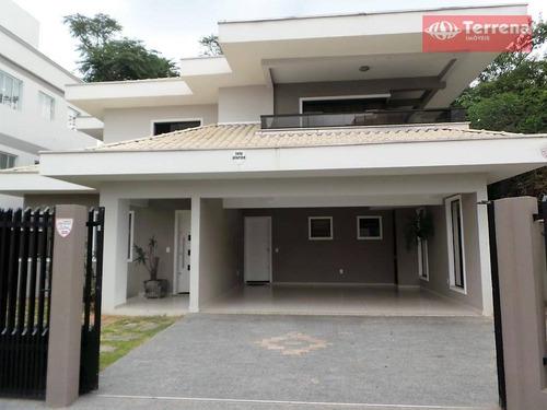 Imagem 1 de 21 de Casa Alto Padrão Mobiliada Para Venda E Locação, 252 M² - Passo Manso - Blumenau/sc - Ca0068