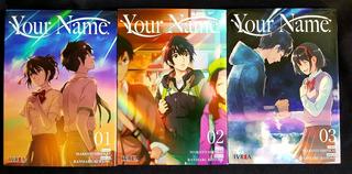 Your Name - Tomo 1 Al 3 - Completa - Manga - Ivrea