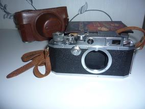Leica - Canon - Câmera De Rosca M39 - Perfeito Funcionamento