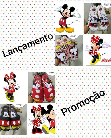 Melissa Beach Slide + Mickey #promoção#