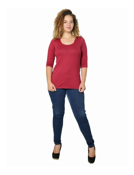 Blusa Camisa Laterais Abertas Tapa Bumbum Plus Size