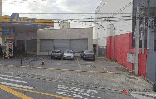 Salão Para Alugar, 337 M² Por R$ 10.000,00/mês - Jardim Do Mar - São Bernardo Do Campo/sp - Sl0348