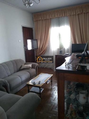 Imagem 1 de 11 de Casa Terrea 2 Dorms, Osvaldo Cruz, Scs - R$ 600 Mil, Cod: 1176 - V1176