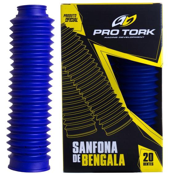 Sanfona De Bengala Nxrt 125/150 20 Dentes Pro Tork Azul