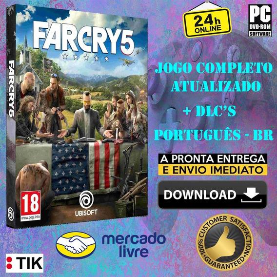 Far Cry 5 Deluxe Edition - Completo - Português Br